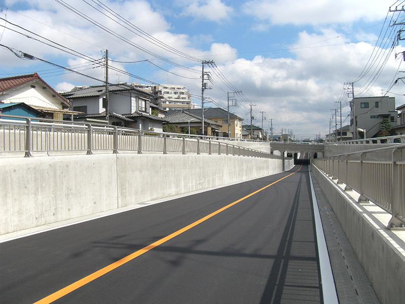 前口山ノ内線道路築造工事(その1)
