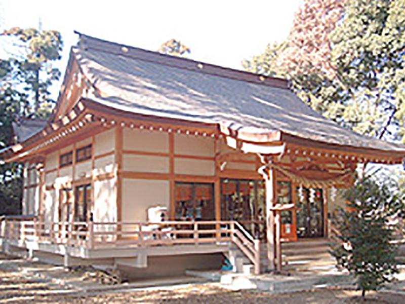 久伊豆神社社殿新築工事