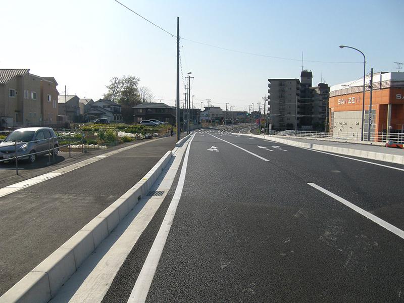 道路改築工事(蓮田岩槻バイパス・道路改良工)