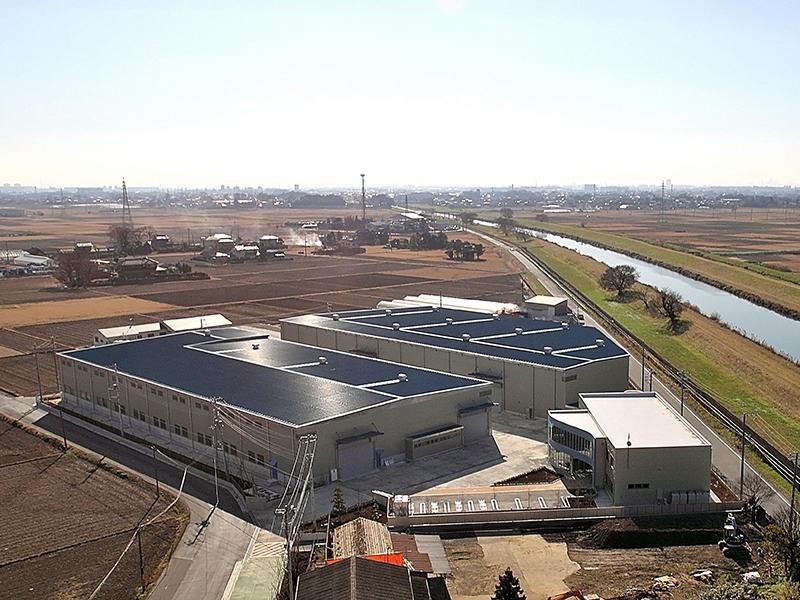 飯島鋼管(株)新工場建設工事