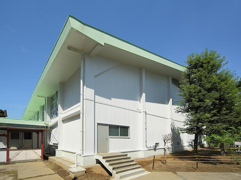 緑小学校体育館耐震補強工事