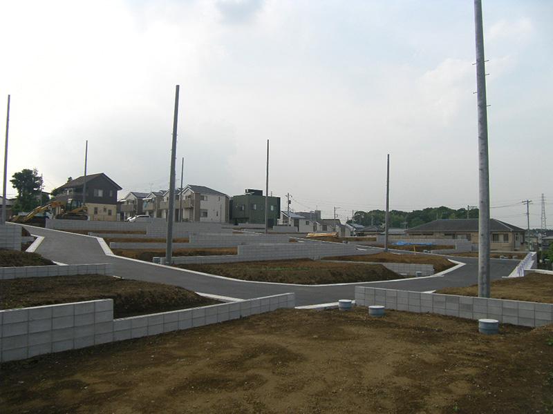 グリーンガーデン木曽呂北造成工事