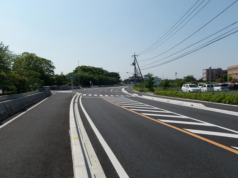 舗装道整備工事(蓮田・馬込工区)
