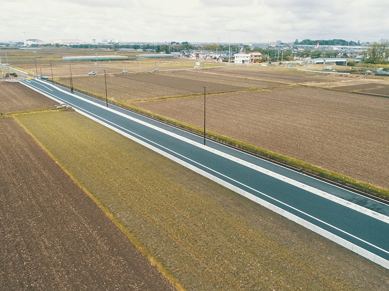 市道48号線道路改良工事