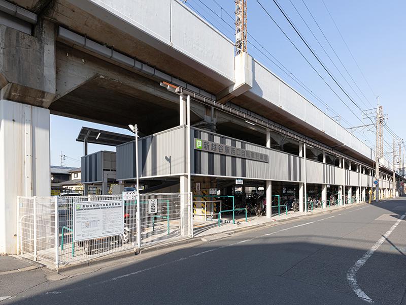 新越谷駅西口自転車駐車場改修工事
