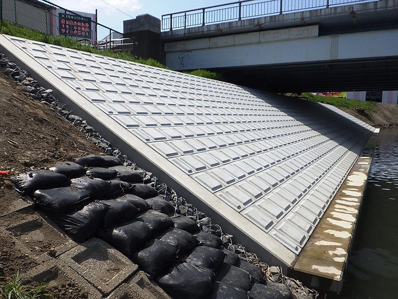 橋りょう修繕工事(新今宮橋護岸補修工)